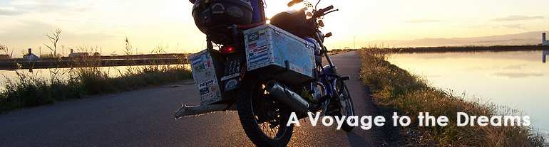 Motorcycle travel around the world - Motorcycle world trip, (2003-2009), on two Yamaha YBR, experiencing lots of adventures through five continents.