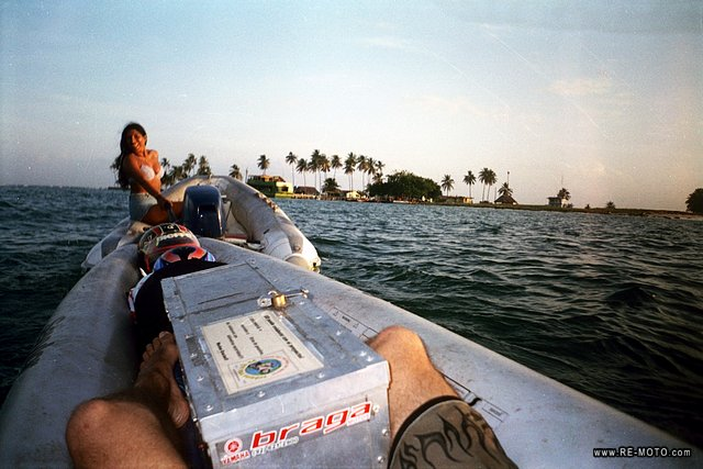 Towing to the San Blas Island