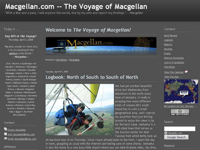 The Voyage of Macgellan