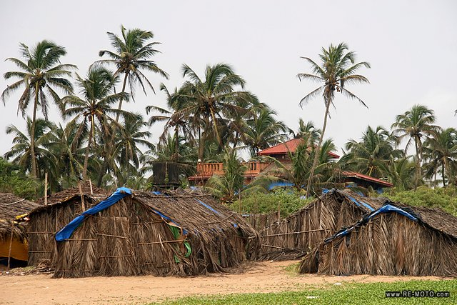 Goa beaches are one of the few quiet places of India...