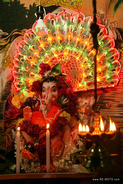 Celebration of Ganesh Festival. Ganesh is the Remover of Obstacles.