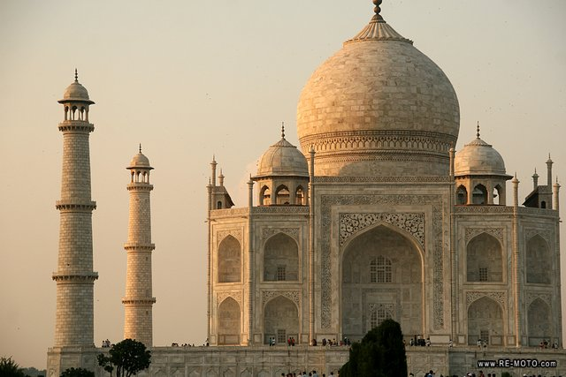 We kept our sight fixed on the magical Taj until the sun went down.
